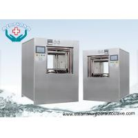 China Double jacket Pressure Chamber Lab Autoclave Sterilizer With Smooth Loading Rack on sale