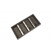 Buy cheap 595x340x139mm 3 Straps PTFE Loaf Cake Pan from wholesalers