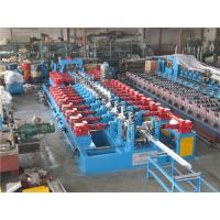 Quality Cr12 C Purlin Roll Forming Machine , Corrugated Iron Sheet Making Machine 550mm Coil Width for sale