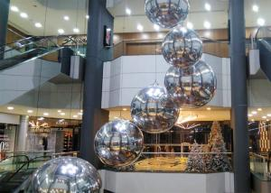 Big Inflatable Reflective Floating Balls Inflatable Mirror Ball Huge Inflatable Mirror Balls For Party Decortation Manufactures