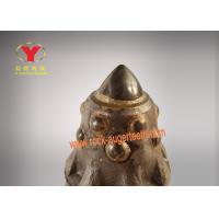 High Efficiency Round Shank Cutter Bit Abrasion Proof For Rotary Drilling Manufactures