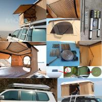 Tear Resistant Car Top Tent Hard Shell With Clipper - Built Design Manufactures