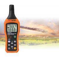 High Accuracy Digital Thermometer Humidity Meter With °C / °F Unit Selection Manufactures