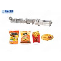 Buy cheap Small French Fried Production Line Sweets Potato Frozen French Fries Making from wholesalers