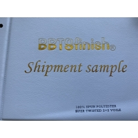 BBTSfinish® Brand 100% Super High twisted full spun polyester voile plain dyed printing digital printing fabric Manufactures