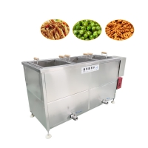 Food Factories 50kg/H 100kg/H Potato Chips Frying Machine Manufactures