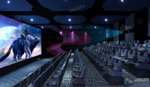 SHUQEE Warm Welcomed SV 3D Cinema With Lifelike Picture Shock Resistance Manufactures