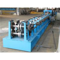 Automatic Z Purlin Roll Forming Machine , Durable Roll Former Machine Chain Drive Manufactures