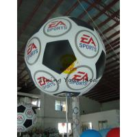 PVC 1.8m Inflatable Lighting Balloon Digital Printing For Celebration Manufactures