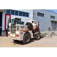 Buy cheap Yuchai Engine Automatic Feeding Mobile Cement Mixer Trucks With 2 Cubic Meter from wholesalers