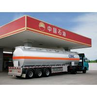 China CIMC China 3 axle oil tanker truck trailer road tanker for sale on sale