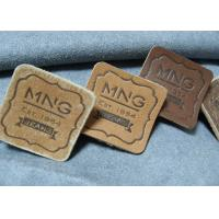 High Quality Custom Logo Embossed Real Leather Labels Patches for Jeans and Bags Manufactures