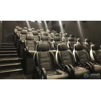 Glittering Adventure Motion Electric Mobile 5D Cinema With Fiber Glass Material Manufactures