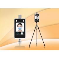 FCC 8 Inch Color Screen Temperature Scanner WiFi  Face Id  Time Attendance Machine Manufactures
