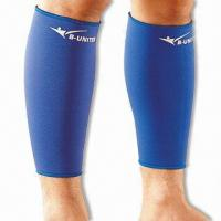 Shin and Calf Support, Both Sides with Nylon Jersey Manufactures