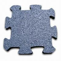 Floor Mat, Made of Recycled Rubber Crumb, Suitable for Weighting Room and Exercise Area Manufactures