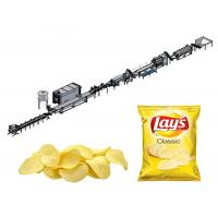 Buy cheap 100kg/H Pringles Potato Chips Complete Production Line from wholesalers