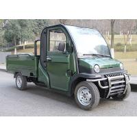 1.8*1.2m Electric Assist Cargo Tricycle , 120Ah Three Wheel Electric Cargo Bike Manufactures