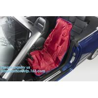 Reusable Car Seat Cover Protector, Waterproof, Front Seat Cover For Universal Car Seat Airplane Seat Protective Covers Manufactures