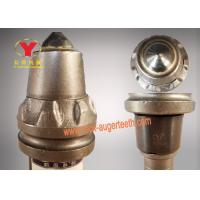 Wear Resistant Round Shank Cutter Bit Big Alloy Head With Carbide Steel Material Manufactures