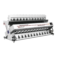 Intelligent Balanced 12T/H 8.5KW CCD Rice Color Sorter Manufactures