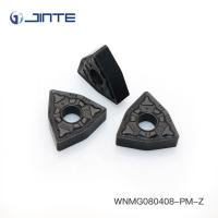 Triangle Carbide Turning Inserts Cutting Tools WNMG080408 - PM For Steel Machining Manufactures