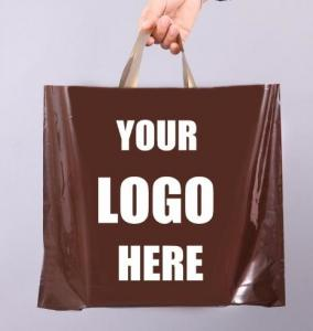 Glossy Retail Bags - Shopping Bags For Boutique - Boutique Bags - Plastic Shopping Bags Trade Shows Vendor Supplies Manufactures