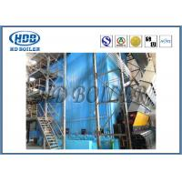 Industrial Self Supporting Corner Tube Boiler With Natural Circulation Cooling Manufactures