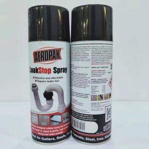 Buy cheap Black Leak Liquid Sealer Aerosol Spray Paint Sealant Coating 400ml Filled from wholesalers
