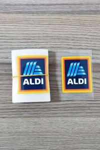 T Shirt Heat Transfer Printing Service Stickers Tagless Labels Custom Design Logo Manufactures