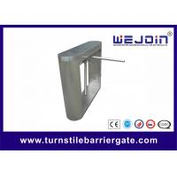 Buy cheap Semi Automatic Tripod Turnstile Gate Stainless Steel With Controller / RFID from wholesalers