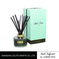 Luxury Decoration Home Aroma Fragrance Diffuser Round Bottle SGS Approval Manufactures