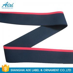 Printed Logo Jacquard Elastic Waistband Men's Underwear  Woven Elastic Tape Manufactures