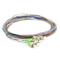 Indoor Terminated Fiber Optic Pigtail FC APC Low Insertion Loss Custom Length Manufactures