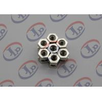 Swiss Turning Nickel Plating 1214 Iron Hexagonal Nuts , Order Custom Machined Parts  Manufactures