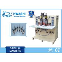 Buy cheap High efficiency Copper Braided Wire Automatic Welding and Cutting Machine from wholesalers