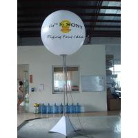 Two Sides 1.5m Inflatable Lighting Balloon Digital Printing For Event Manufactures