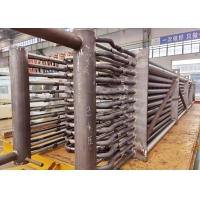 Stainless Steel Boiler Economizer With Spiral Fin Tube And U Bend Manufactures