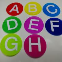 Fire Retardant Hook And Loop Tape Cute Carpet Markers For Classroom Manufactures