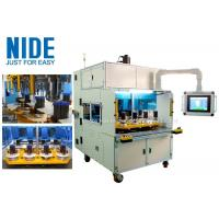Eight working station coil winding machine for middle and big size stator Manufactures