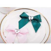 Decoration Tie Satin Ribbon Bow Washable Home Textile With Dyeing Manufactures