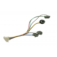 PBT 9 Pins 4 Branch 3.96mm Pitch Cable Wiring Harness Manufactures