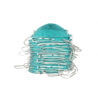 Buy cheap Particulate Respirator Flat Fold N95 Face Mask from wholesalers