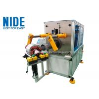 Horizontal Malfunction Alarm Coil Insertion Machine For Insert Coil And Wedge Manufactures