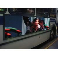 Outdoor Waterproof LED Mobile Billboard 6mm Pixel Pitch For Bus Advertising Manufactures
