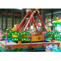 Safety And Fun Pirate Ship Amusement Ride For Children Parks / Shopping Malls Manufactures