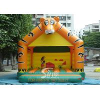 Lovely Blow Up Kids Inflatable Tiger Jumping Castles for kids Inflatable Bouncy Castle Fun Manufactures