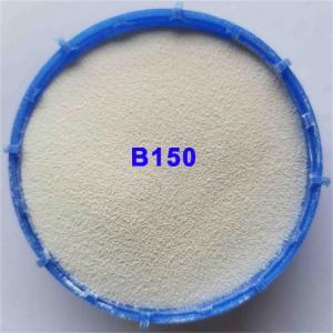Metal Surface B150 700HV Ceramic Bead Blasting Media Manufactures