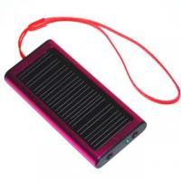 4 LED Lamps Mini Flashlight Solar Chargers with 1000mA Input for  IPC,  APC,  PDA,  PSD Manufactures