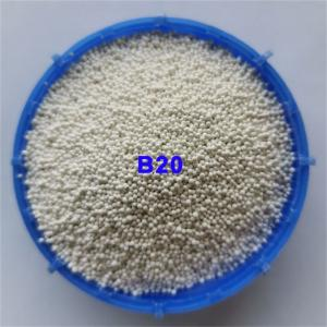 Micro Beads Ceramic Blasting Media B20 0.850mm For 3C Metal Surface Finish Manufactures